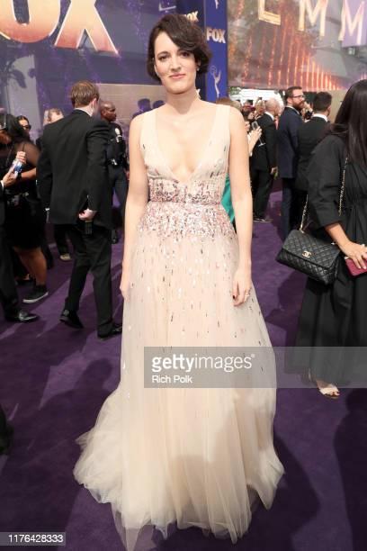 Phoebe WallerBridge walks the red carpet during the 71st Annual Primetime Emmy Awards on September 22 2019 in Los Angeles California
