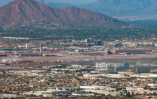 Phoenix Airport aerial view