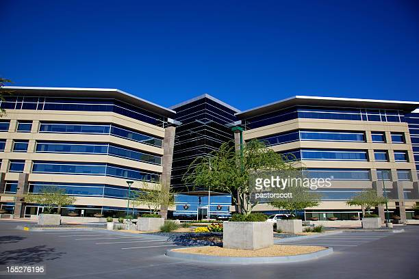 phoenix area christmas business financial office building in scottsdale arizona - arizona christmas stock pictures, royalty-free photos & images