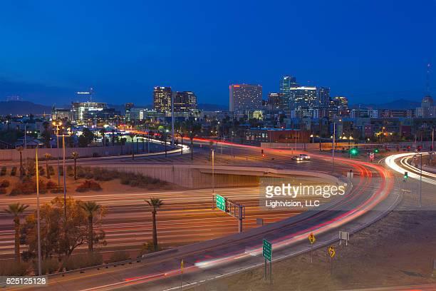 Phoenix, Arizona Downtown Skyline