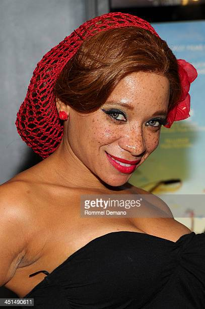 Phoenix attends the screening of Bettie Page Reveals All at Village East Cinema on November 22 2013 in New York City