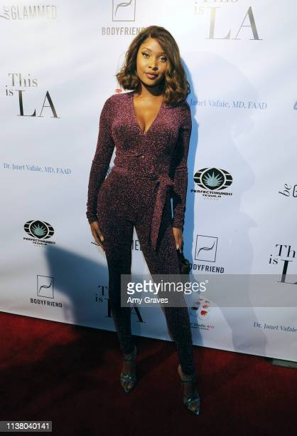 Phoenix attends the 'This is LA' Season 3 Premiere Party at Yamashiro Hollywood on April 18 2019 in Los Angeles California