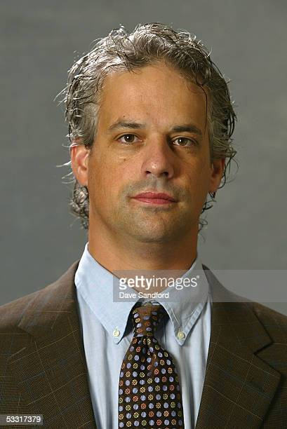 Phoenix Coyotes scout Greg Royce poses for a portrait during the 2005 National Hockey League Draft on July 30 2005 at the Westin Hotel in Ottawa...