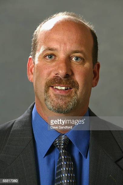 Phoenix Coyotes scout Steve Lyons poses for a portrait during the 2005 National Hockey League Draft on July 30 2005 at the Westin Hotel in Ottawa...