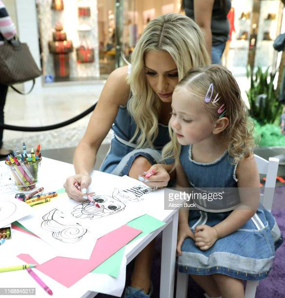 Phoenix Kemsley and Dorit Kemsley attend the Claire's Back to School Bash at the Westfield Topanga on August 18 2019 in Canoga Park California