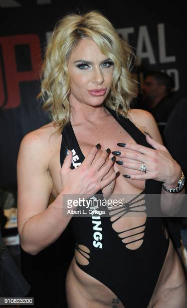 Phoenix Marie attends the 2018 AVN Adult Entertainment Expo at the Hard Rock Hotel Casino on January 26 2018 in Las Vegas Nevada