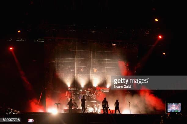 Phoenix performs onstage during the 2017 Governors Ball Music Festival - Day 2 at Randall's Island on June 3, 2017 in New York City.