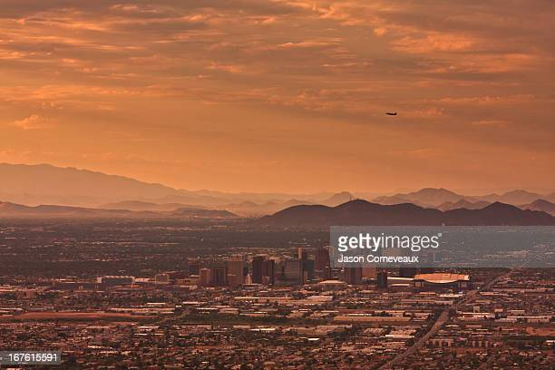 phoenix summer skies - phoenix arizona stock photos and pictures