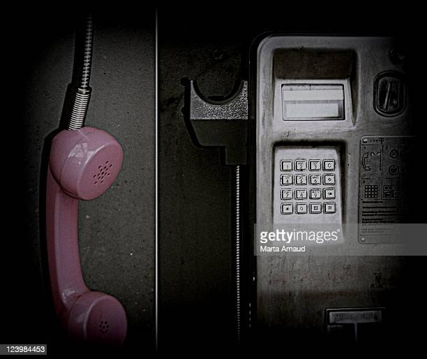 Phone booth in Hamburg,Germany