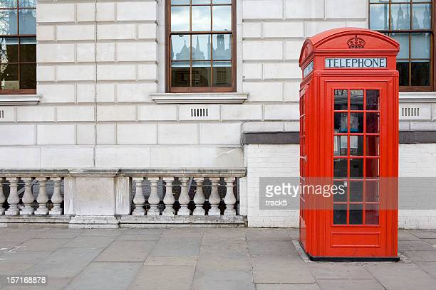 uk phone box - british culture stock pictures, royalty-free photos & images