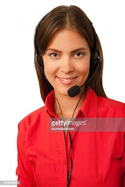 Chica de teléfono