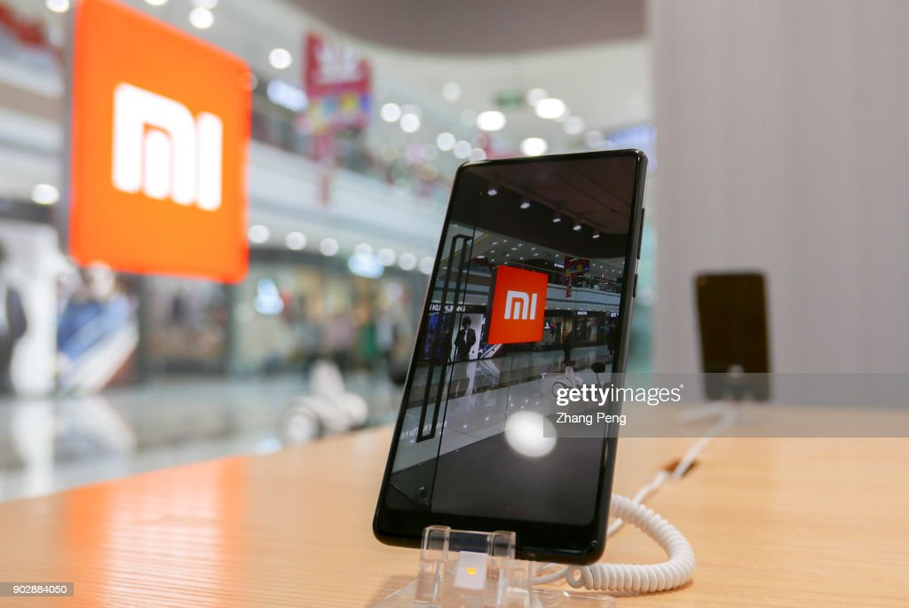 MI Phone In A Shop 2017 The Sales Of Mobile Phones