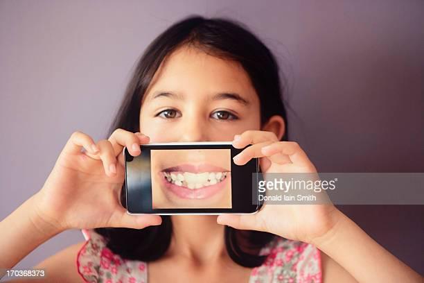 Phone smile