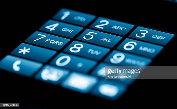 Smartphone Touchscreen-Tastatur
