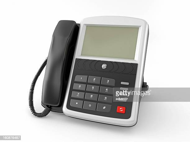 Phone with blank LCD screen