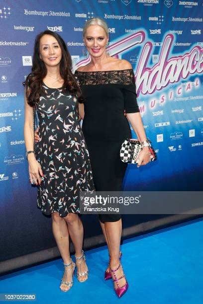 Phong Lan Truong and Petra van Bremen attend the premiere of 'Flashdance Das Musical' at Mehr Theater on September 20 2018 in Hamburg Germany