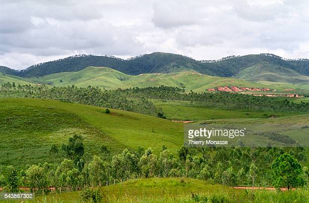 Phonsavan Lao People's Democratic Republic August 2003 The Plain of Jars a prehistoric burial site at the northern end of the Annamese Cordillera in...