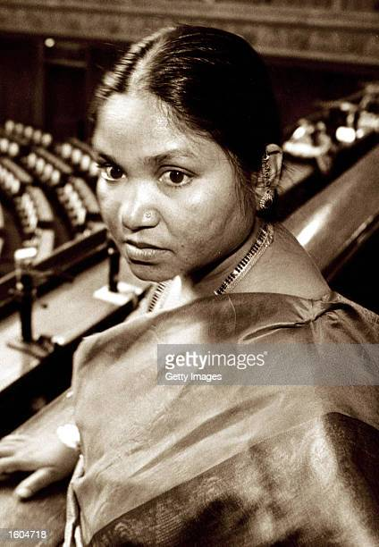Phoolan Devi India''s 'Bandit Queen' is seen in this undated file photo Devi a member of parliament was shot dead outside her home July 25 2001 in...