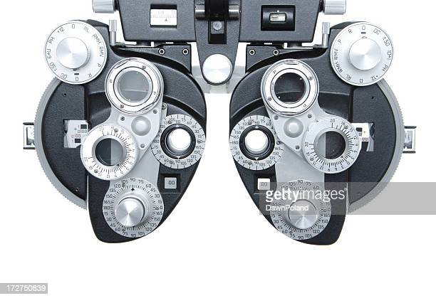 phoropter - optical instrument stock pictures, royalty-free photos & images