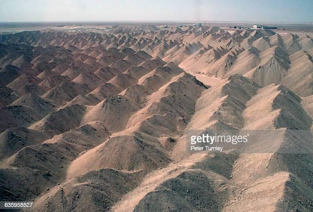 Phosphate Mines in Sahara Desert