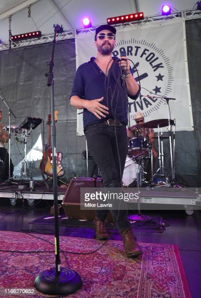 Phosphorescent performs during day three of the 2019 Newport Folk Festival at Fort Adams State Park on July 28, 2019 in Newport, Rhode Island.