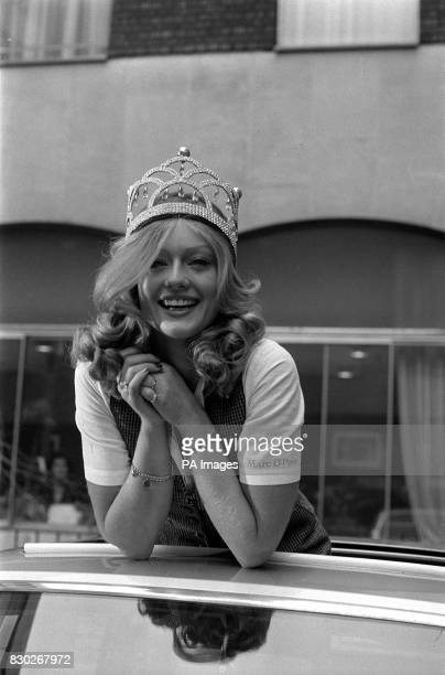 PA Photo 18/11/77 A library file picture of Mary Stavin who won the MIss World Contest 1977 for Miss Sweden at the Royal Albert Hall in London