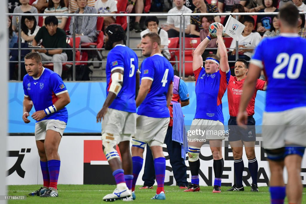South Africa v Namibia - Rugby World Cup 2019: Group B : News Photo