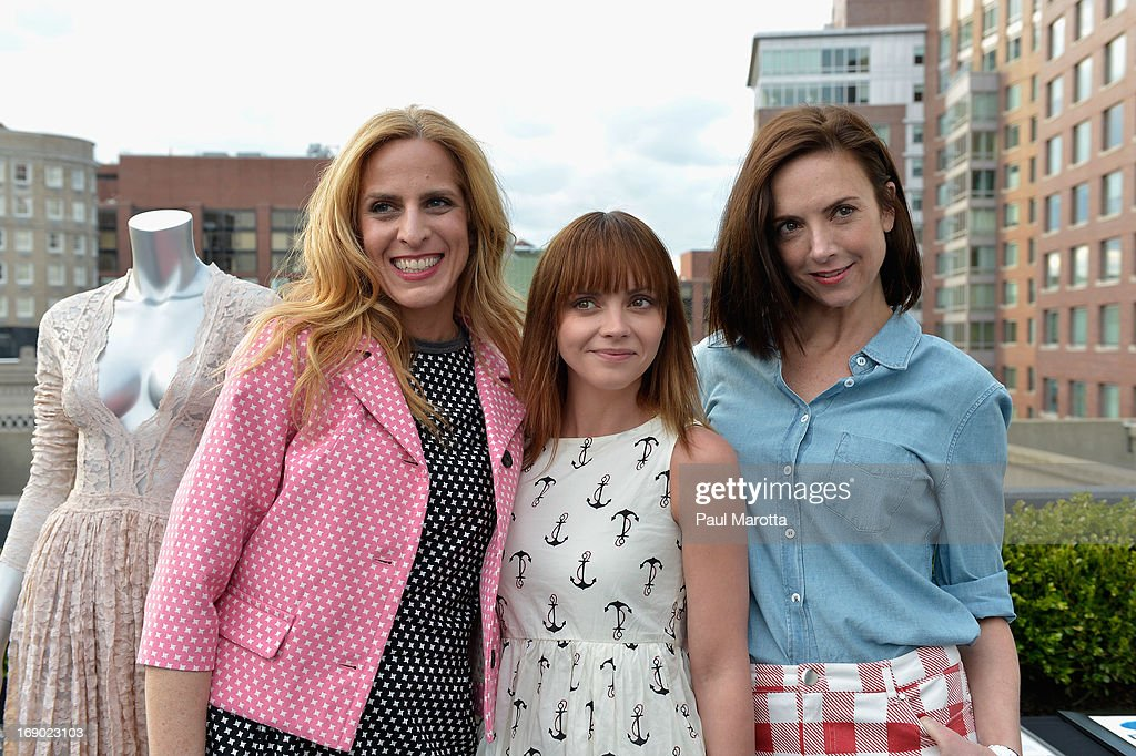 Photo Agent Karen Mulligan, Christina Ricci, and Vogue's Jill Demling attends Rooftop @ Revere Launch Party at The Revere Hotel on May 18, 2013 in Boston, Massachusetts.