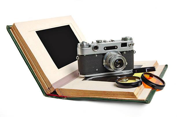Photo album and camera
