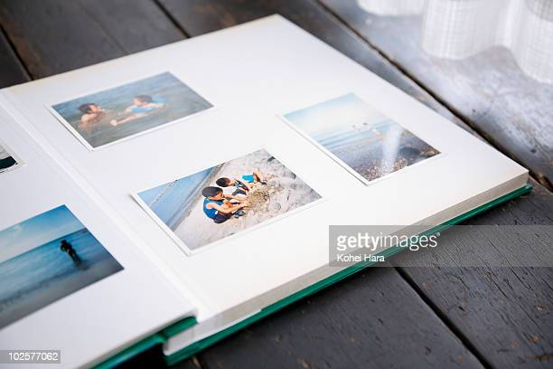 photo album of brothers - photo album stock pictures, royalty-free photos & images
