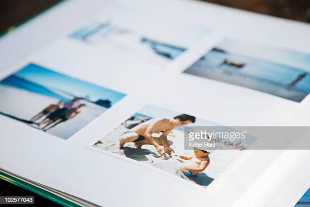photo album of family