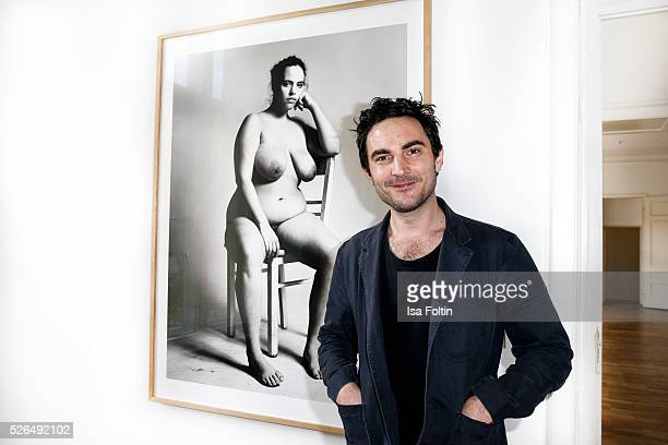 Photo artist Stefan Heinrichs at 'Der Berliner Fotografie Salon Edition 1' on April 29 2016 in Berlin Germany