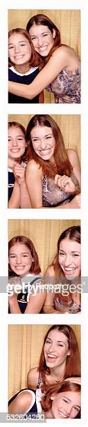 Photo booth sisters