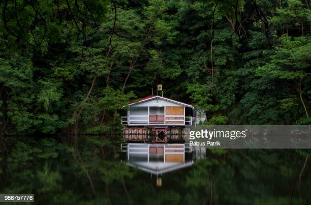 photo by: babus patrik - log cabin stock pictures, royalty-free photos & images