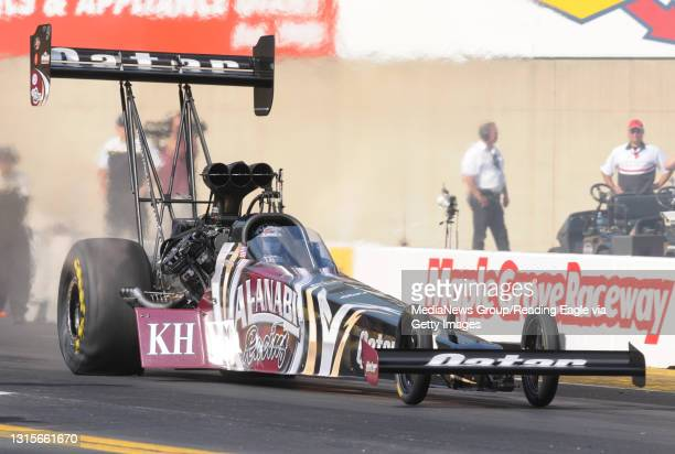Photo by Harold Hoch - Maple Grove Nationals - Top Fuel, Shawn Langdon. 10/5/12