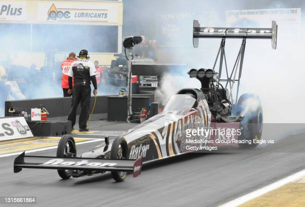 Photo by Harold Hoch - Maple Grove Nationals - Top Fuel, Shawn Langdon. 10/8/12