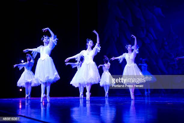 Photo by John Ewing/Staff Photographer November 26 2008 The Snowflake dance in the Maine State Ballet production of 'The Nutcracker' ¬ The George...