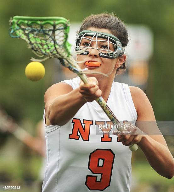 Photo by John Ewing/staff photographer Saturday June 11 2011 North Yarmouth Academy girls lacrosse playoff game against Gardiner NYA's Kate Millett...
