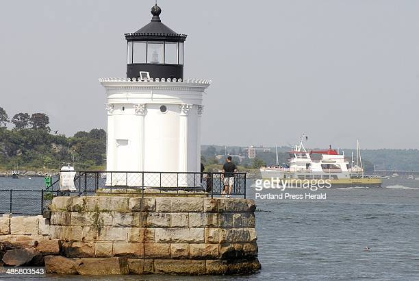 Photo by John Ewing/Staff Photographer Thursday September 3 2009South Portland's Bug Light is one 25 lighthouses around the state that will open to...