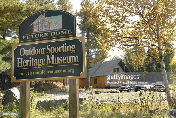 Photo by John Patriquin/Staff Photographer The new Outdoor Sporting Heritage Museum should be ready to open to the public next spring Inset An early...