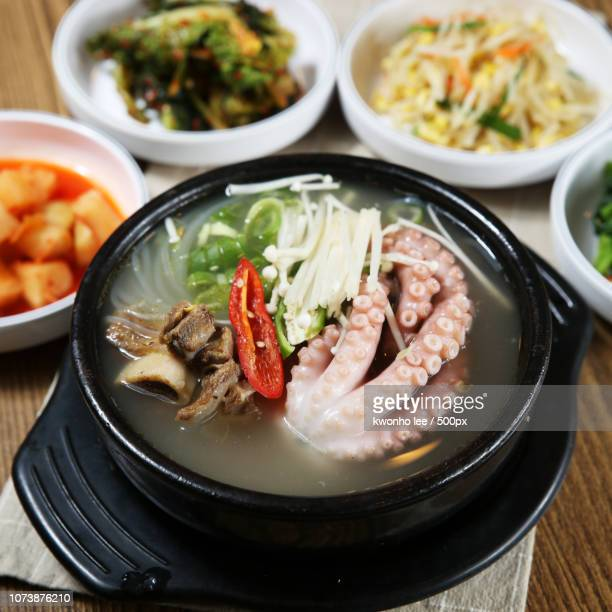 photo by: kwonho lee / 500px - samgyetang stock photos and pictures