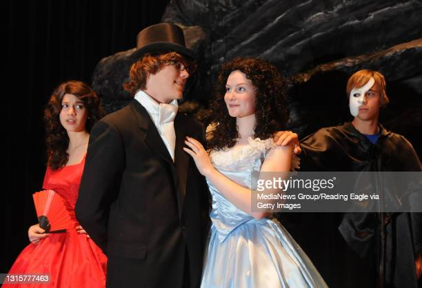 """Photo by Lauren A. LittleNovember 6, 2009Voices Play PreviewOley Valley High School will present """"Phantom of the Opera"""" starring senior Brittany..."""