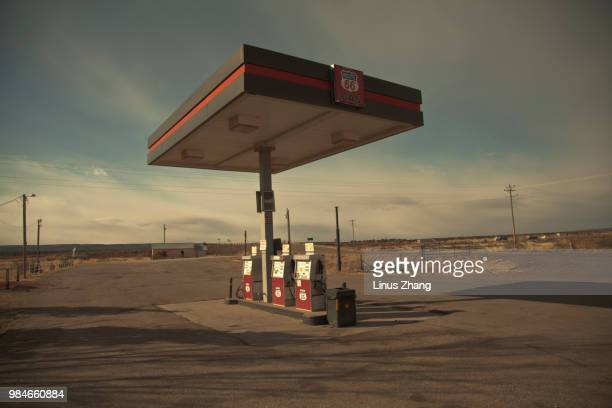 photo by: linus zhang - gas station stock pictures, royalty-free photos & images
