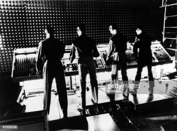 Photo by Stara/Kraftwerk/Getty Images Photo of KRAFTWERK Group performing on stage