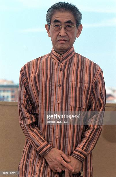 Photo Call Film Gohatto On May 16Th 2000 In Cannes France Director Nagisa Oshima