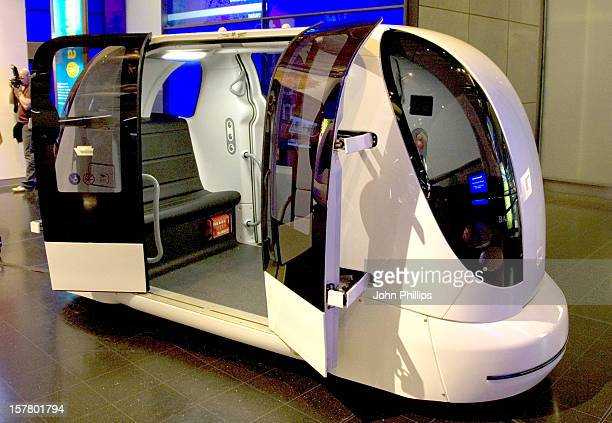 Photo Call For 'The Pod Car' A Driverless Vehicle Which Is Being Showcased At The Science Museum The Vehicle Is Part Of A Fleet Currently Being...