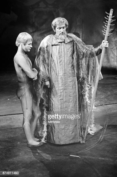 Photo call for the William Shakespeare play 'The Tempest' at The Royal Shakespeare Theatre StratforduponAvon Pictured left to right 'Ariel' and...