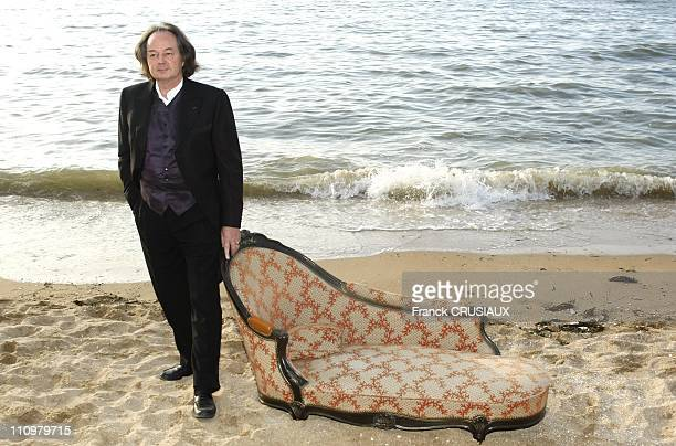 Photo Call Gonzague Saint Bris at the 22th Cabourg Film Festival in June 14th 2008