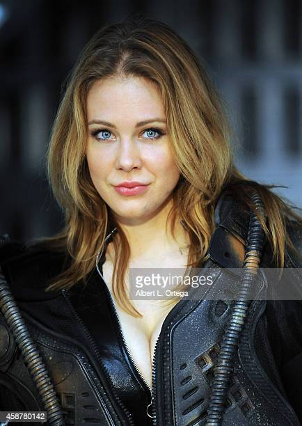 "Photo call Preproduction shoot with actress Maitland Ward staring in ""Descent Into The Maelstrom"" on set at Morphius Studios on November 10, 2014 in..."