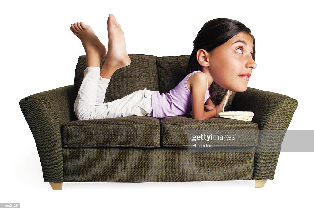 teenager auf Couch